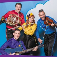 The Wiggles playing instruments