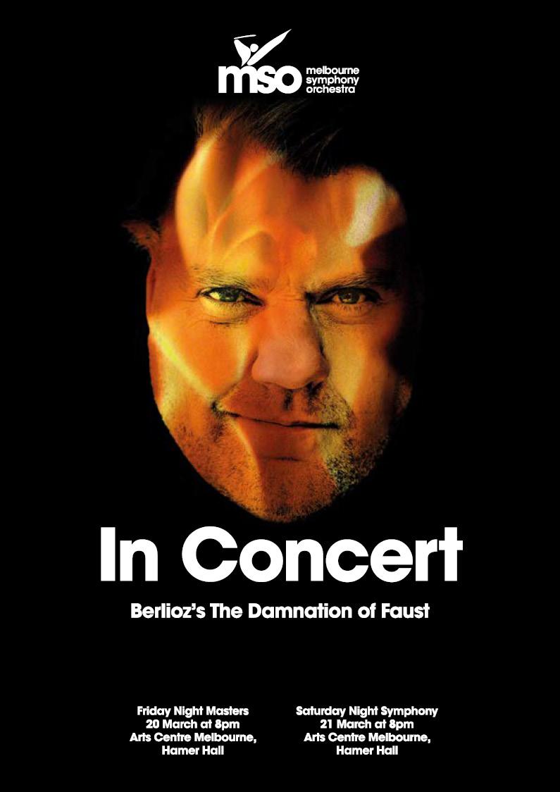 Damnation of Faust Concert Program