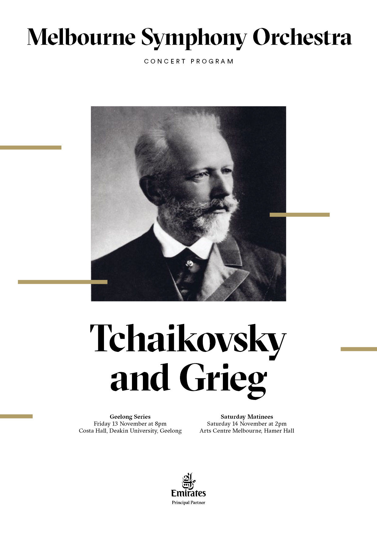 Tchaikovsky and Grieg