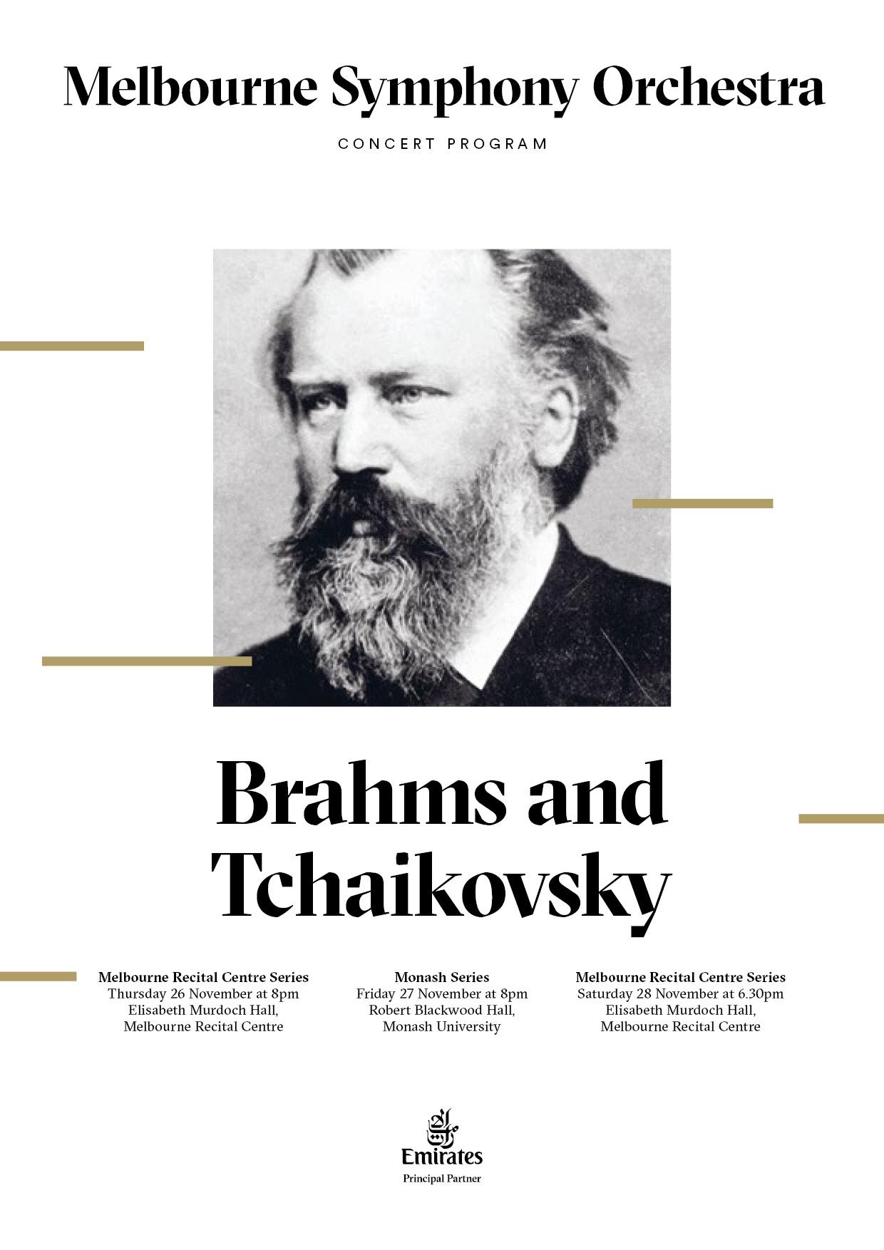 Brahms & Tchaikovsky