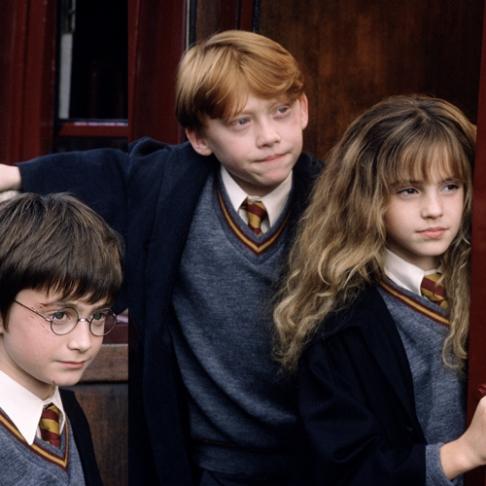 Harry Ron Hermione_Harry Potter