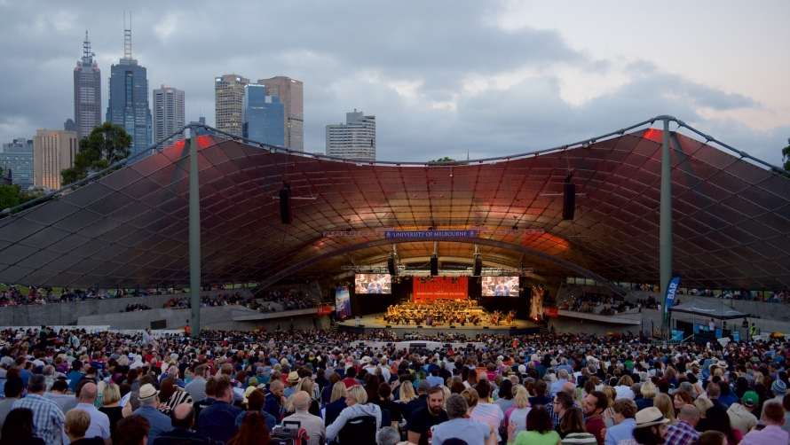Summer Nights, Classical Music, And Free Entry At The Sidney Myer Music Bowl
