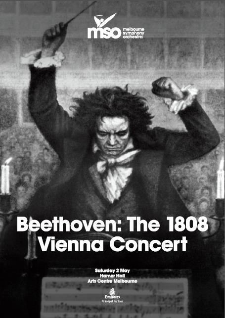 Beethoven: The 1808 Vienna Concert program