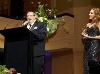 Harold Mitchell with Rhonda Burchmore, image credit - Laura Manariti