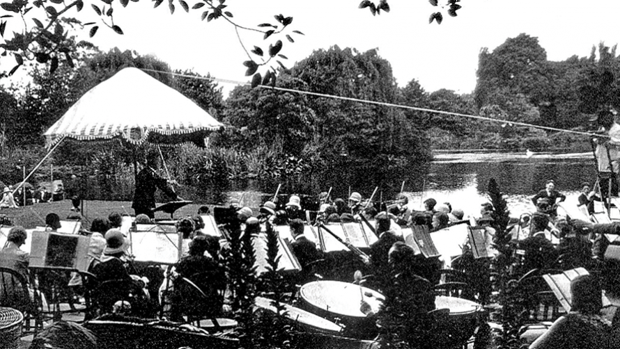 MSO Free Concert in the Gardens in 1929