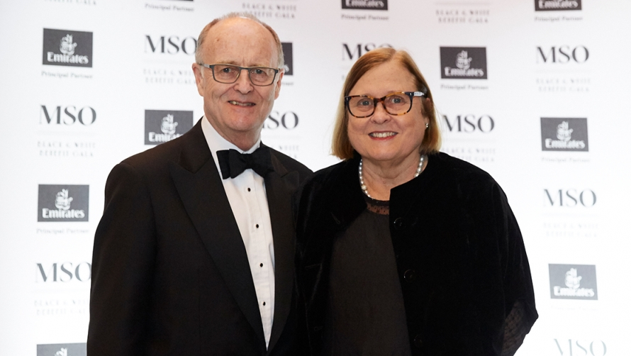MSO Chairman Michael Ullmer AO with his wife, Jenny Ullmer