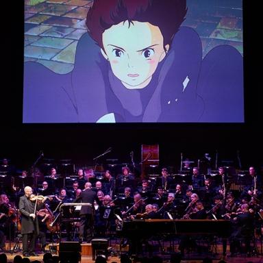 MSO performing Music from the Studio Ghibli Films in 2018   Image credit: Daniel Aulsebrook